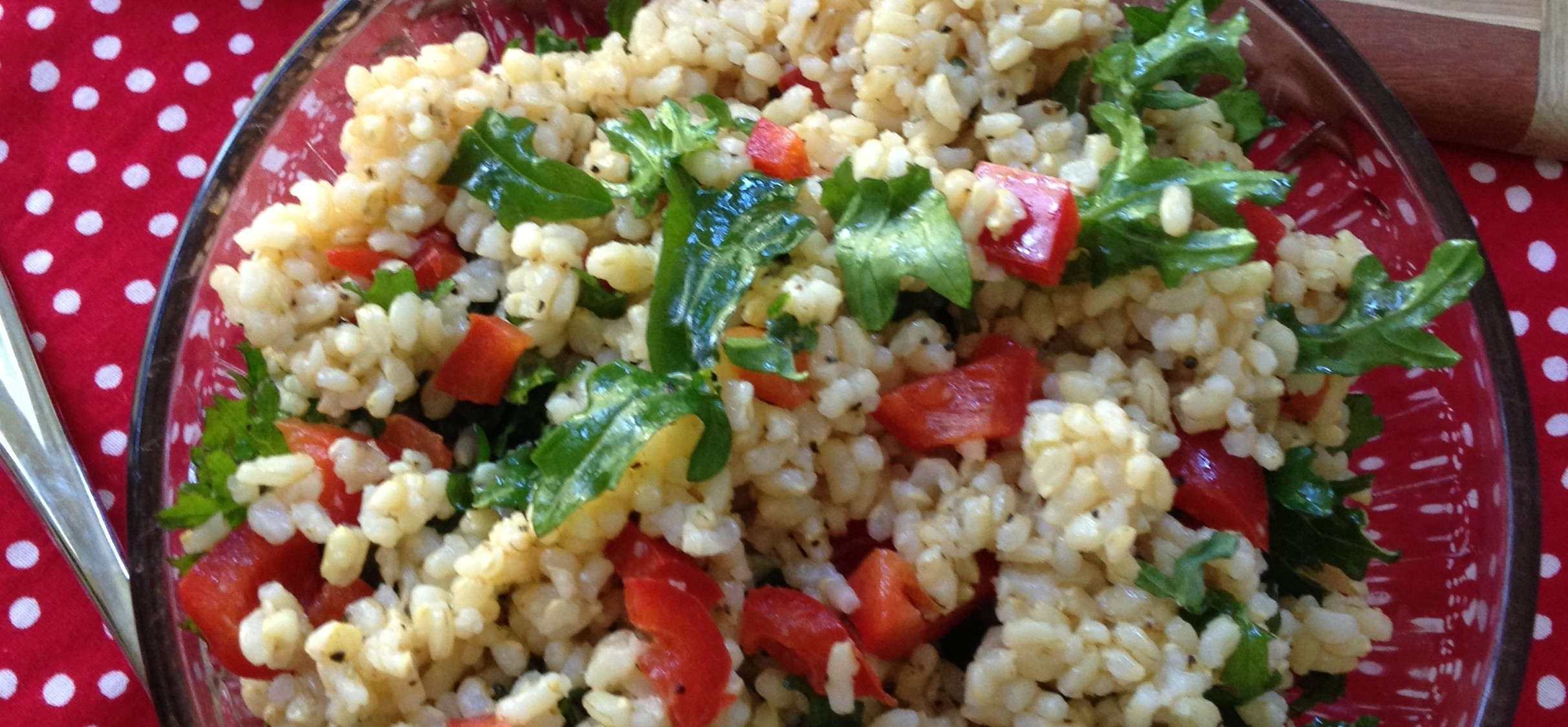 Brown Rice and Kale Salad