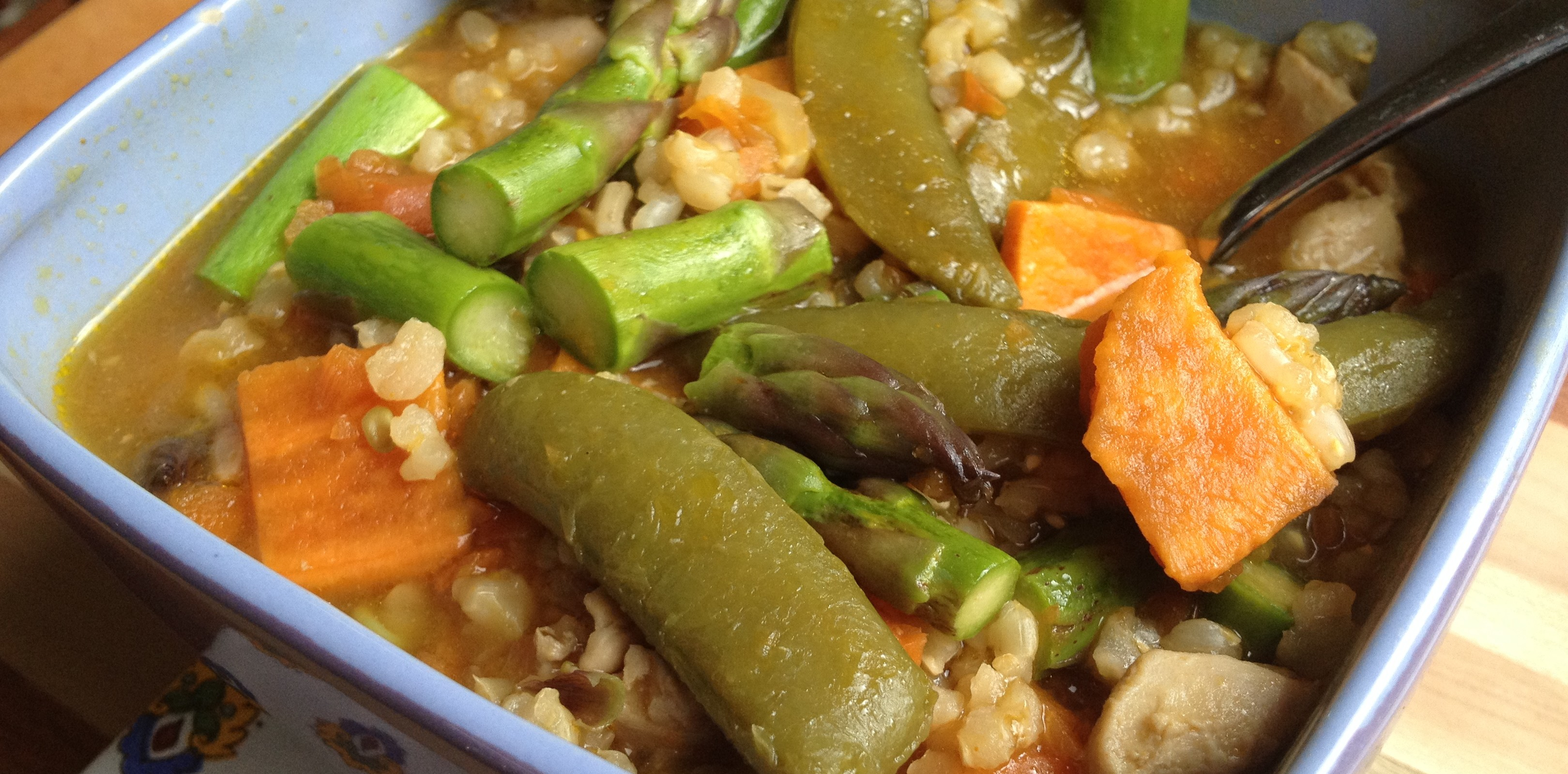 Oriental Vegetable Stew