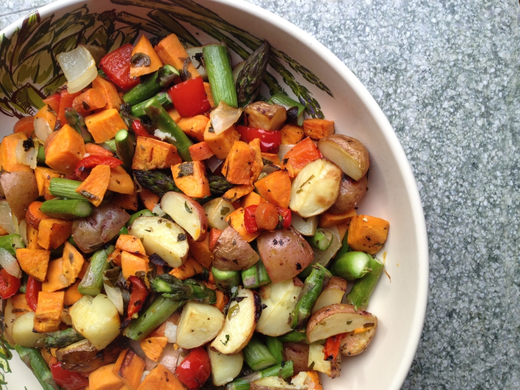 Oven Roasted Vegetables - theunprocessedhome.comtheunprocessedhome.com