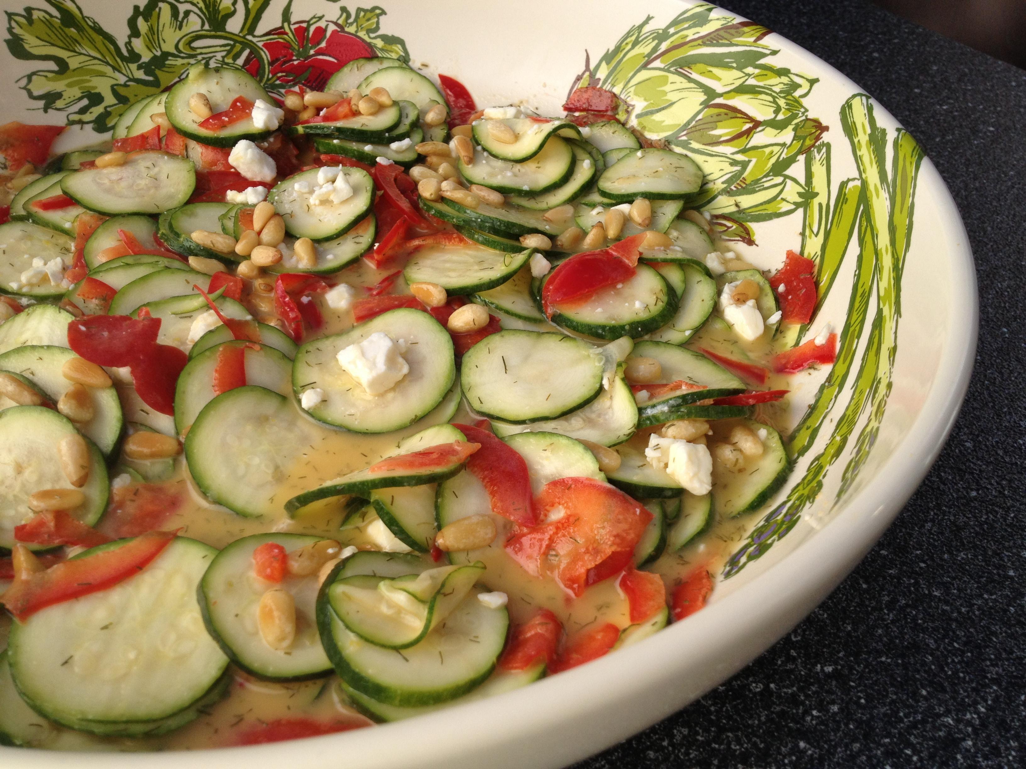 Zucchini Crudo Salad