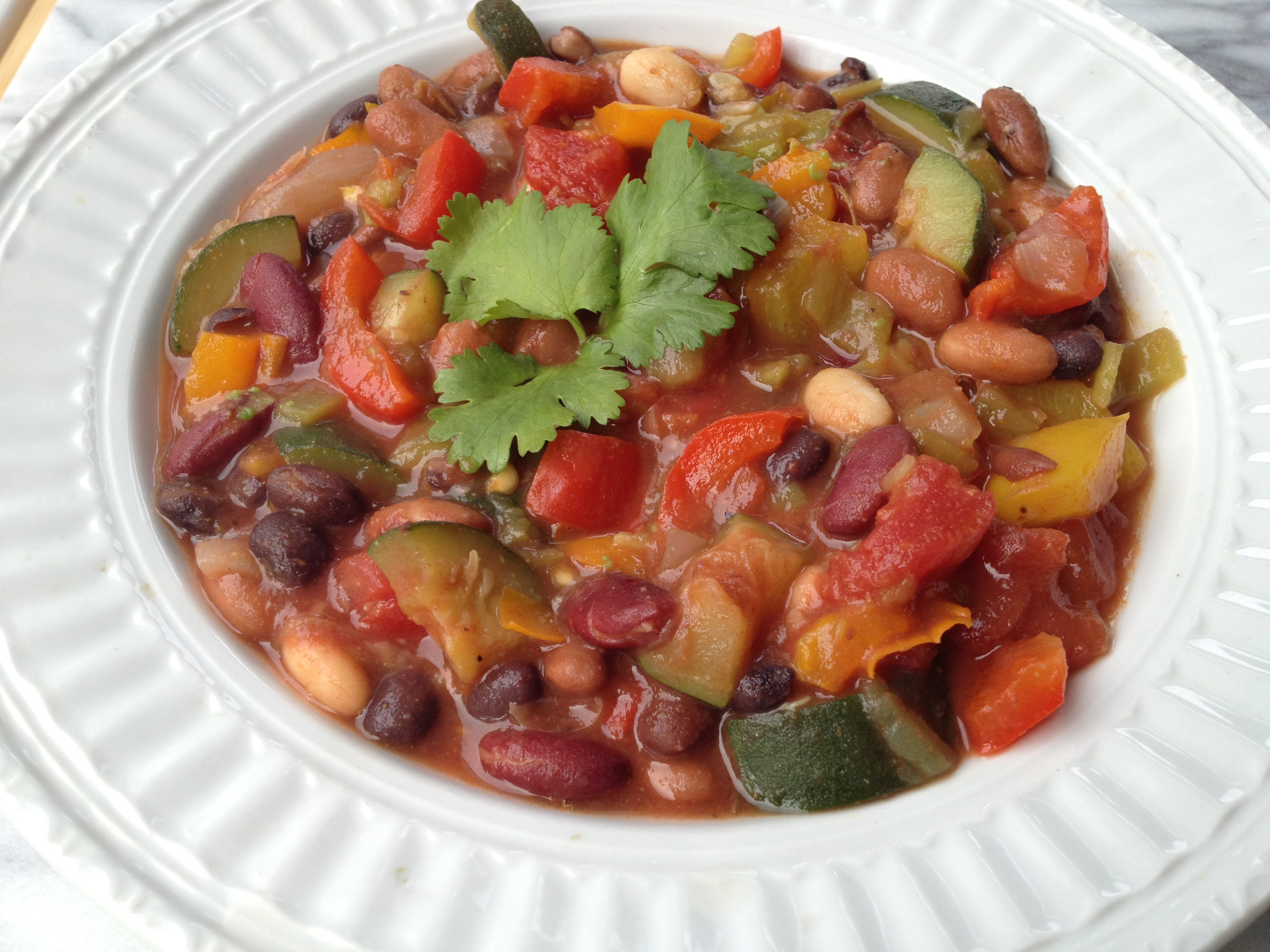 Five Bean Vegetarian Chili