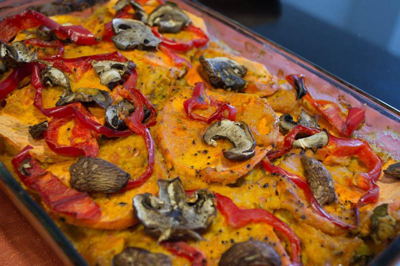 Cashew Butternut Vegan Lasagna