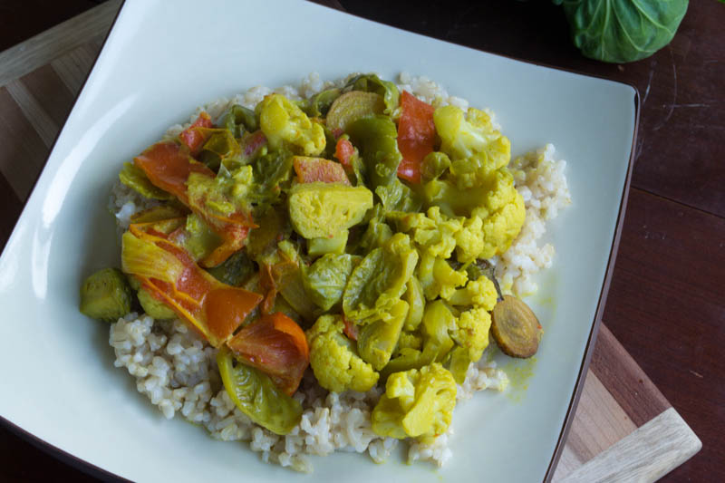 Coconut Curry Bowl