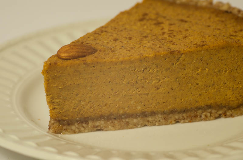 Grain Free Dairy Free Pumpkin Cheesecake