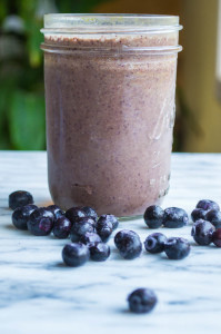 Blueberry Chard Smoothie