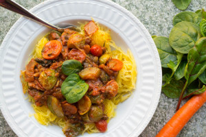Chunky Vegetable spaghetti sauce