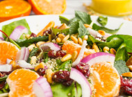 Tangerine Cranberry Salad