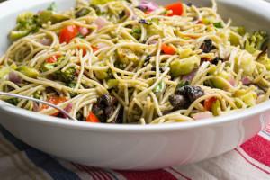 Spaghetti Noodle Pasta Salad-