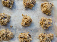 Almond Butter Oat Raisin Cookies