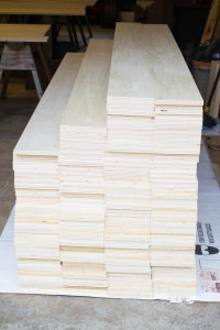 Wide Plank Plywood floor
