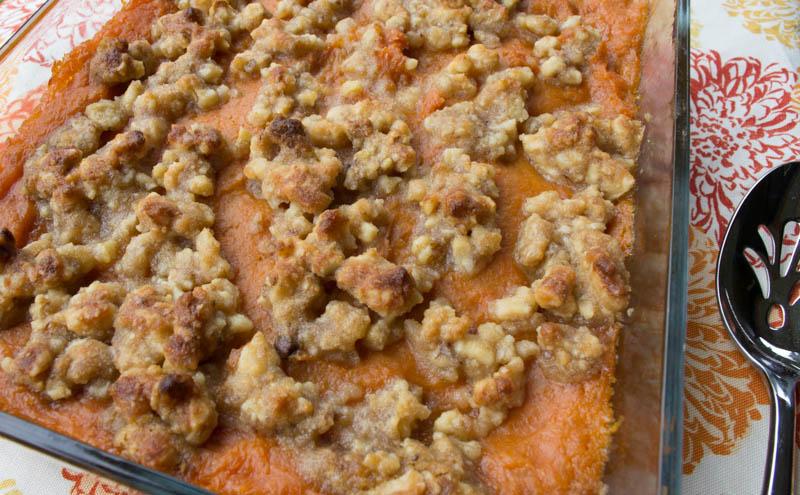 """Yam """"Sweet Potato"""" Souffle-gluten free vegan"""