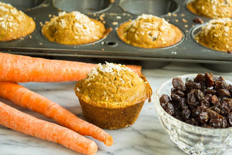 Carrot Pumpkin Muffins