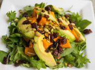 Butternut Salad with Dried Cranberries