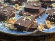 Grain Free Cacao Granola Bars